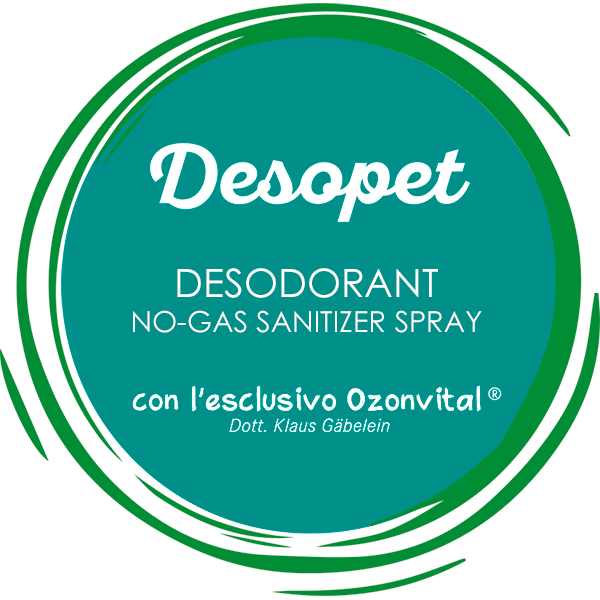 DESOPET DESODORANT NO-GAS SANITIZER SPRAY - LACOVET pet beauty&care