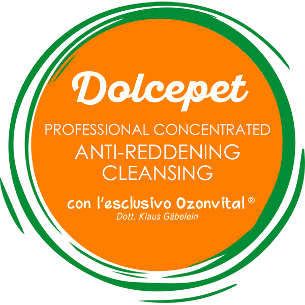 DOLCEPET PROFESSIONAL CONCENTRATED ANTI-REDDENING CLEANSING - LACOVET pet beauty&care