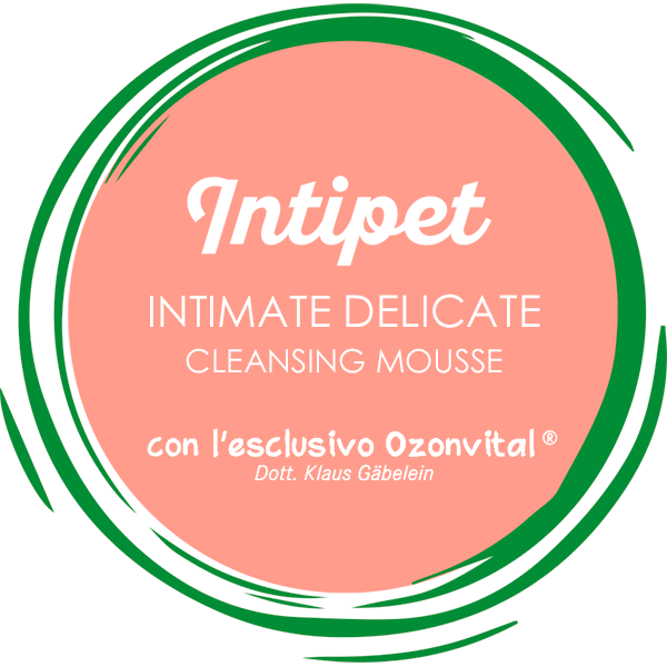 INTIPET INTIMATE DELICATE CLEANSING MOUSSE - LACOVET pet beauty&care