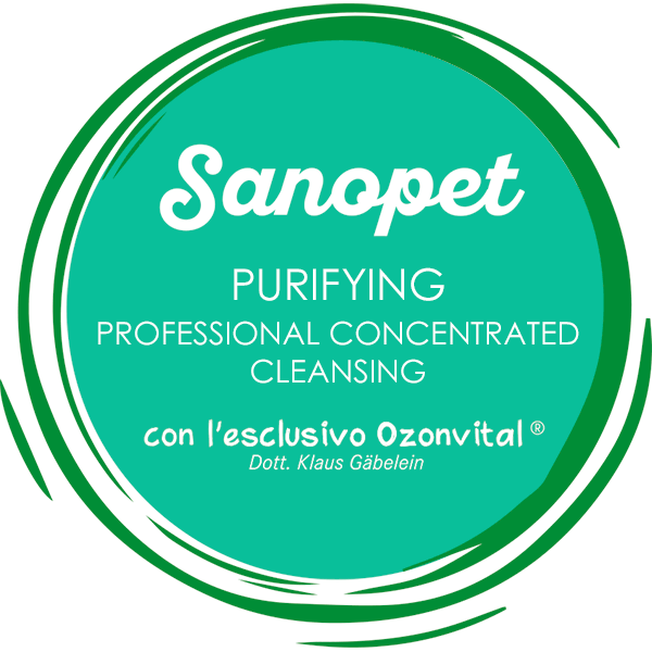 SANOPET PURIFYING PROFESSIONAL CONCENTRATED CLEANSING - LACOVET pet beauty&care