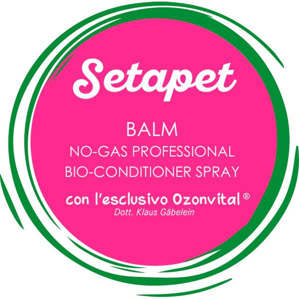 SETAPET BALM NO-GAS, PROFESSIONAL BIO-CONDITIONER SPRAY - LACOVET pet beauty&care
