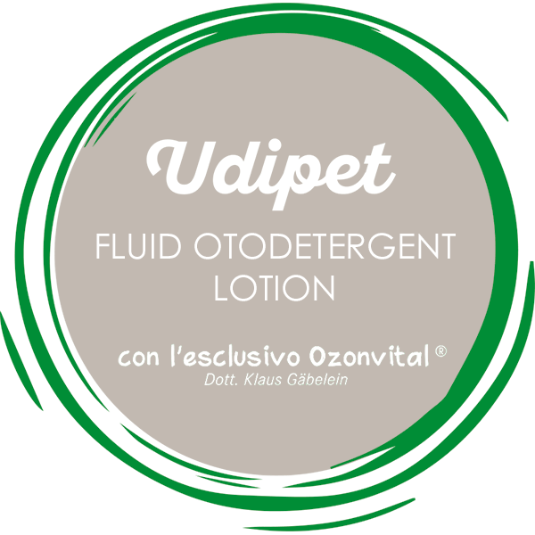 UDIPET FLUID OTODETERGENT LOTION - LACOVET pet beauty&care
