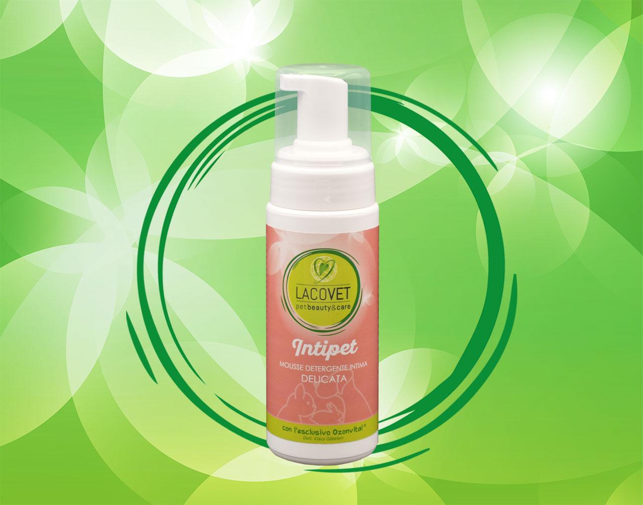 INTIPET mousse detergente intima delicata - LACOVET pet beauty&care