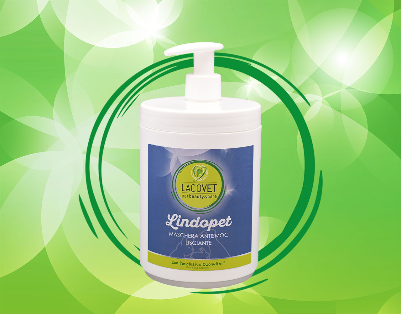LINDOPET maschera antismog effetto lisciante - LACOVET pet beauty&care