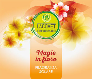 MAGIE IN FIORE Fragranza Solare - LACOVET pet beauty&care