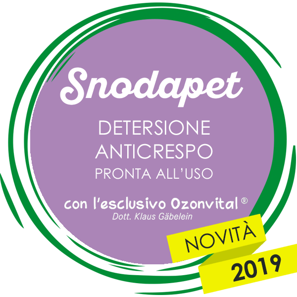 SNODAPET DETERSIONE ANTICRESPO PRONTA ALL'USO - LACOVET pet beauty&care