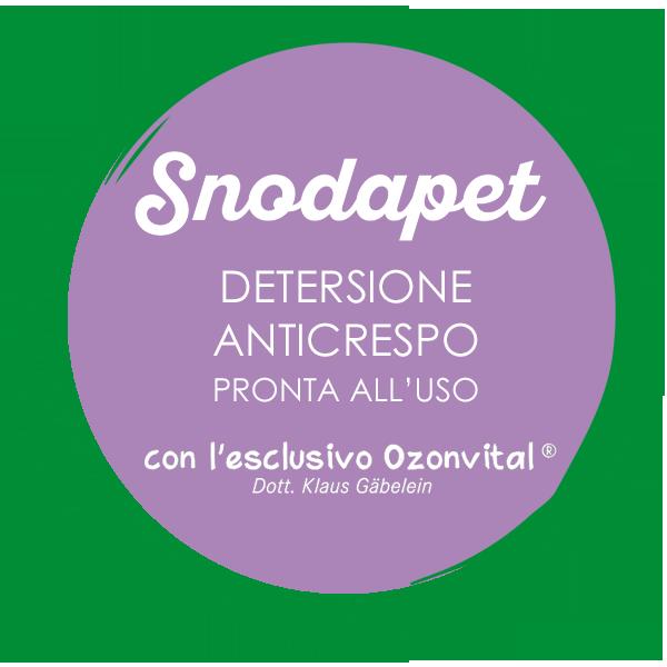 SNODAPET DETERSIONE ANTICRESPO PRONTA ALL'USO - LACOVET pet beauty&care