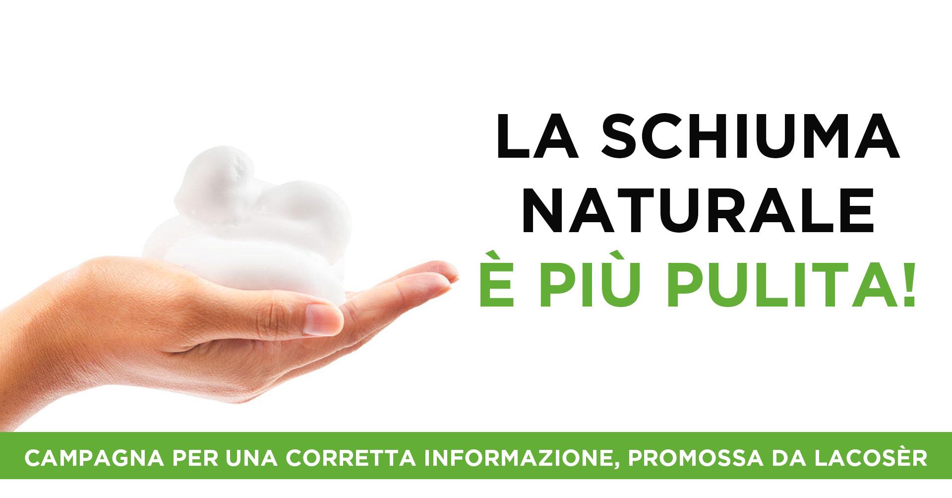 Campagna a favore dei Tensioattivi Vegetali a cura di Lacosèr